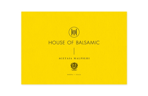 House Of Balsamic _ Bussines Card